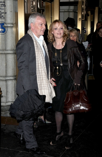 John Bartlett and Miranda Richardson