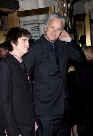 Miles Guthrie and Tim Robbins