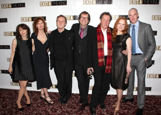 Andrea Martin, Susan Sarandon, William Sadler, Neil Armfield, Geoffrey Rush, Lauren Ambrose and Brian Hutchison