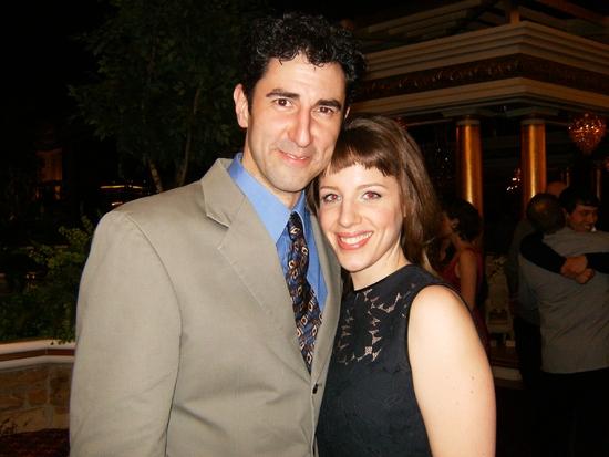 Sean Fortunato and Jessie Mueller