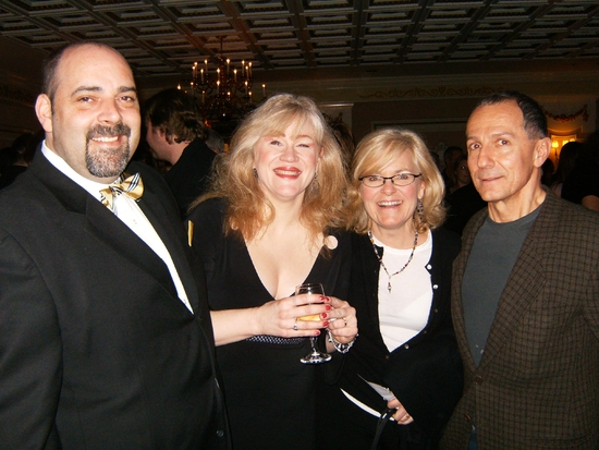 William Osetek, Nancy Voigts, Anne Gunn and Jim Corti