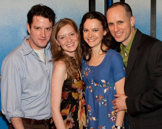 Peter O'Connor, Wrenn Schmidt, Natalia Payne, and Kelly AuCoin