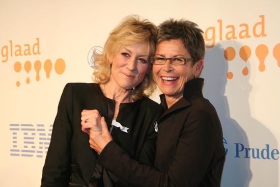 Judith Light and Kate Clinton Photo