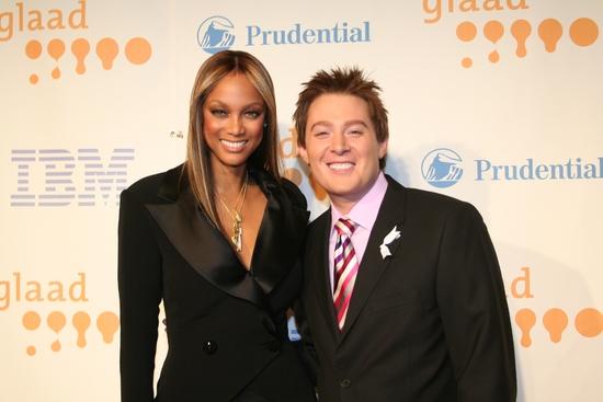Tyra Banks and Clay Aiken