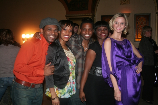 JD Webster, Tanya Birl, Tyrick Wiltez Jones, Monica L. Patton and Leslie Donna Flesner