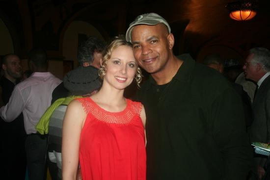 Alina Faye and Guy Davis