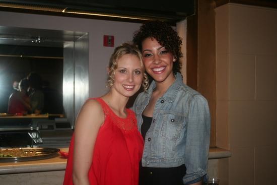 Alina Faye and Bree Branker