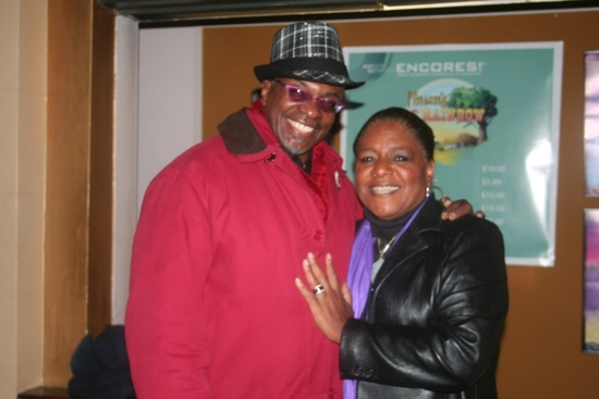 Keith David and Terri White