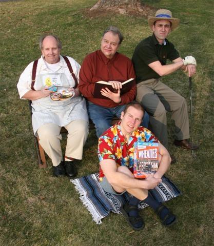 Ed Costik, Don Bowman, Stosh Snyder, and John Mohn