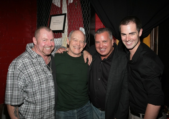 Joe Rose, Max Gail, Larry Dean Harris, and Michael Matthews