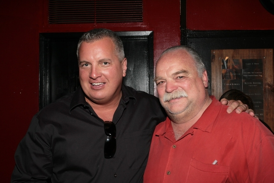 Richard Riehle and Larry Dean Harris