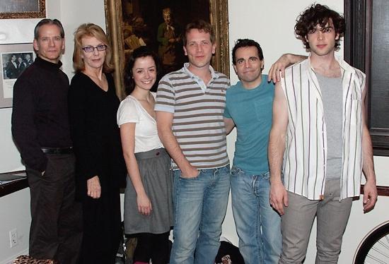 Campbell Scott, Jill Calyburgh, Phoebe Neidhardt, Jeremy Webb, Mario Cantone, and Ethan Peck