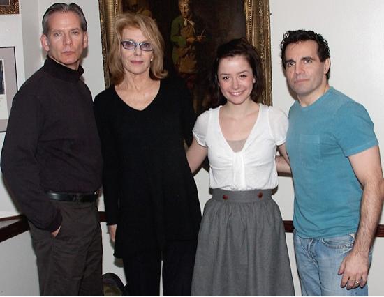 Campbell Scott, Jill Clayburgh, Phoebe Neidhardt, and Mario Cantone
