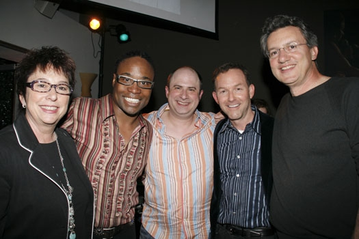 Suzi Dietz, Billy Porter, James Sampliner, Dan Jinx, Lenny Beer at Upright Cabaret