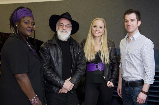 Sharon D Clarke, Terry Pratchett, Kerry Ellis and Daniel Boys