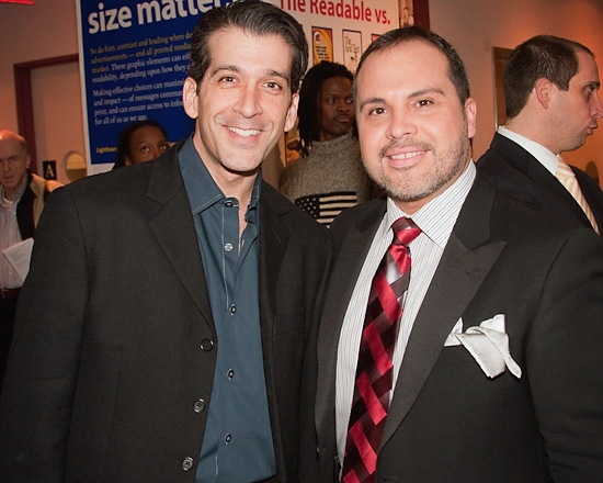 Ramon Del Barrio and Eliseo Roman