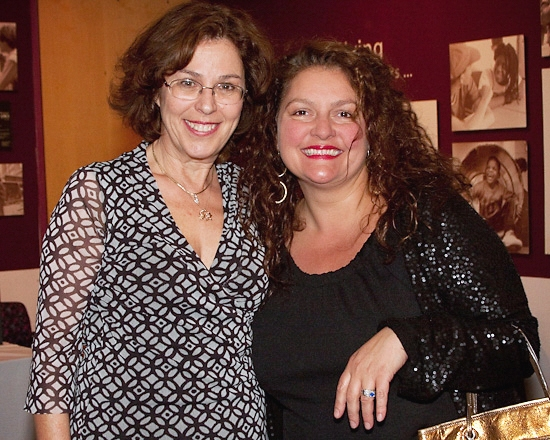 Donna Trinkoff and Aida Turturro