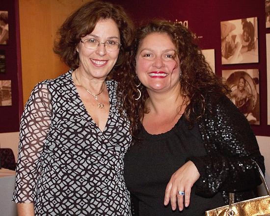 Donna Trinkoff and Aida Turturro