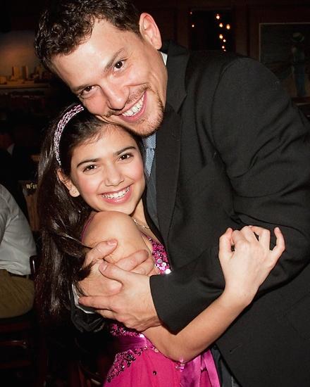 Lina Silver and Miguel Cervantes