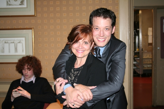 Director Donna Drake and John Tartaglia