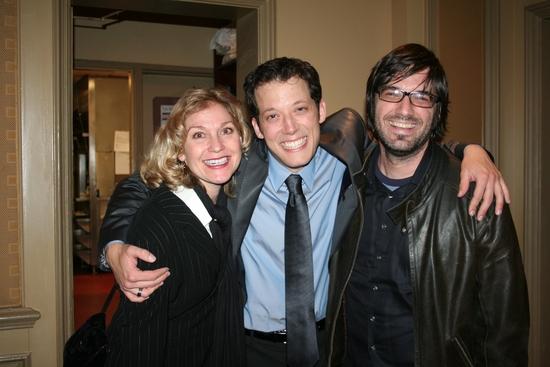Leslie Carrara-Rudolph, John Tartaglia and Tim Lagasse