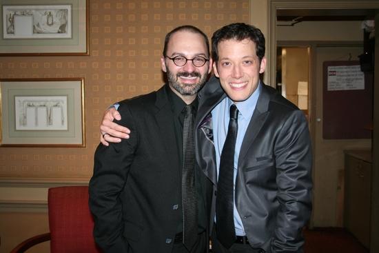 Musical Director Ken Clifton and John Tartaglia