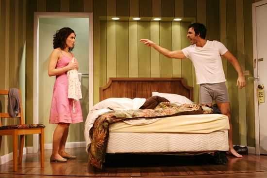 Laura Benanti and Amir Arison