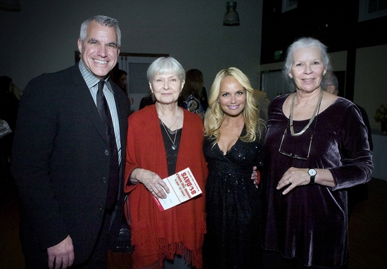 Michael Ross, Joanne Woodward, Kristin Chenoweth, and Anne Keefe Photo