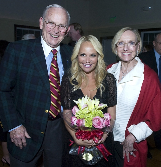 Bob Cummings, Kristin Chenoweth, and Darlene Krenz