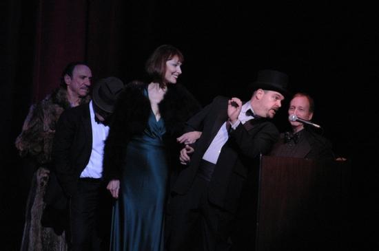 """""""Kudisch Sent Me""""-F. Murray Abraham, Karen Ackers, Brad Oscar and Scott Siegel"""