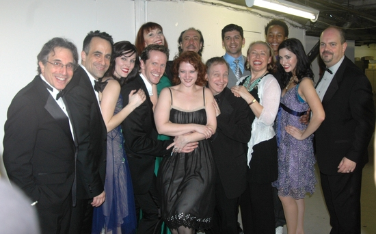 Chip Zien, David Pittu, Mara Davi, Jeffry Denman, Karen Ackers, Kerry O'Malley, F. Murray Abrahan, Scott Siegel, Tony Yazbeck, Babr Jungr, Kendrick Jones, Melinda Sullivan and Brad Oscar at 'Broadway By The Year 1931' at Town Hall