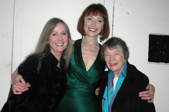 Nikki Orth-Pallavicini, Karen Ackers and their mother Mary