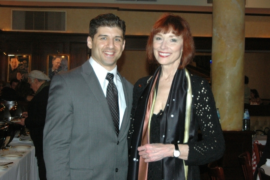 Tony Yazbeck and Karen Ackers