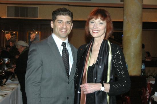 Tony Yazbeck and Karen Ackers