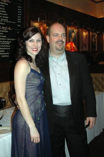 Mara Davi and Brad Oscar
