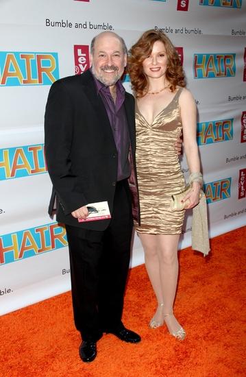Frank Wildhorn and Pamela Jordan