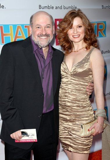 Frank Wildhorn and Pamela Jordan