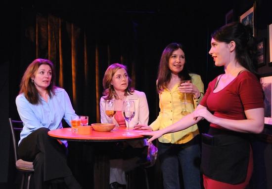 Julianne Carpenter, Shelley McPherson, Dee Dee Friedman and Ashley Anderson