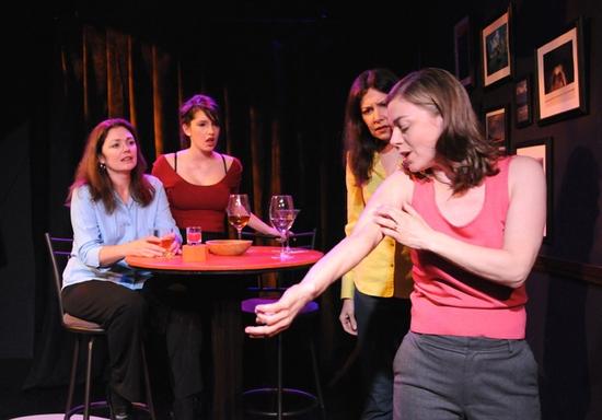 Julianne Carpenter, Ashley Anderson, Dee Dee Friedman and Shelley McPherson