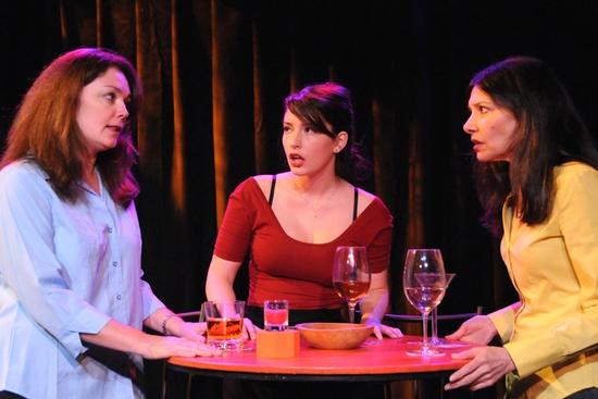 Julianne Carpenter, Ashley Anderson and Dee Dee Friedman