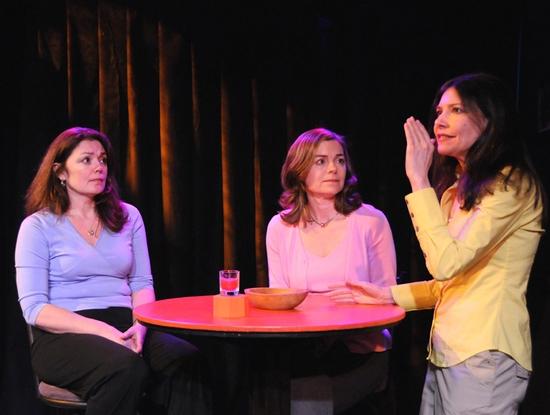Julianne Carpenter, Shelley McPherson and Dee Dee Friedman