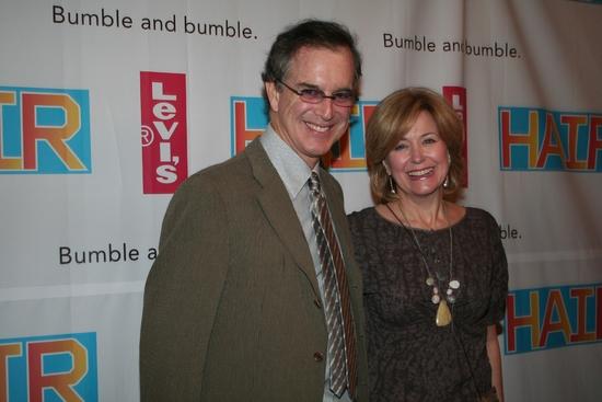 Jane Pauley and Gary Trudeau
