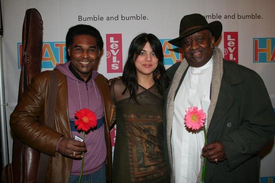 Wilbur Bascomb, Nadia DiGiallonardo (Music Director) and Bernard Purdie