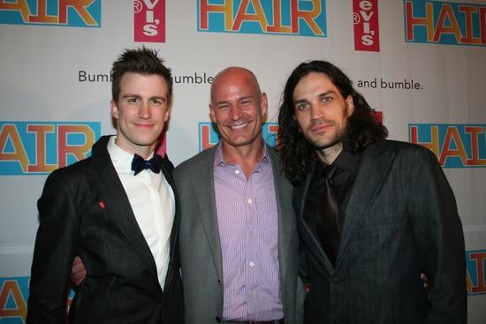 Gavin Creel, Robert Hansen (President of Levis) and Will Swenson