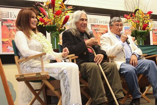 Barbara Luna, Michael DeLeon and Noel DeLeon