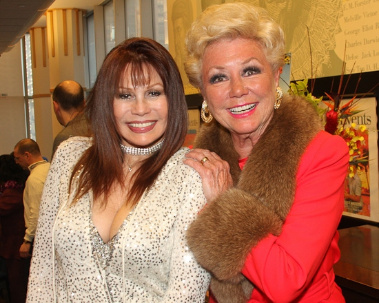 Barbara Luna and Mitzi Gaynor