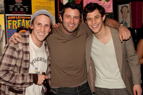 Garen McRoberts, Justin Huff and Kyle Harris