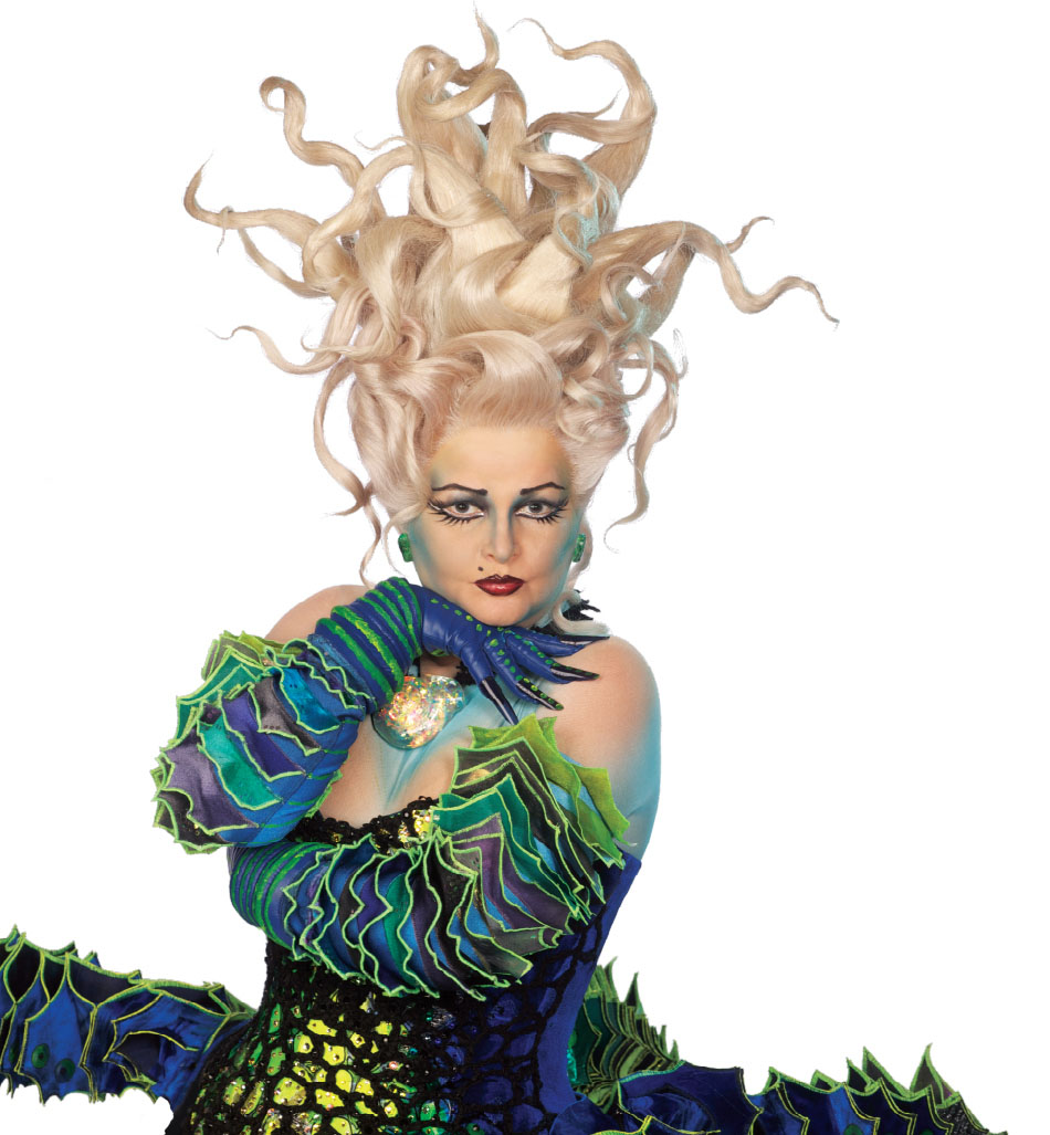 Photo Flash: Faith Prince as 'Ursula' in THE LITTLE MERMAID