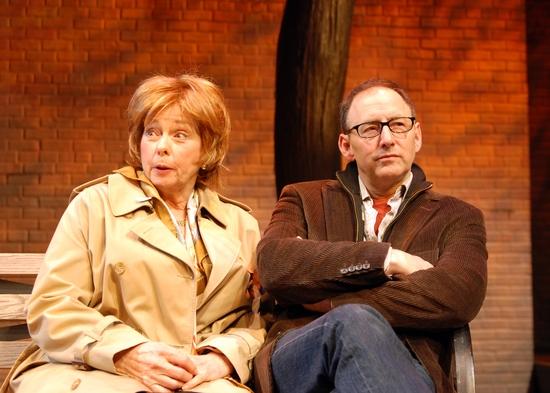 Jenny O'Hara and Arye Gross