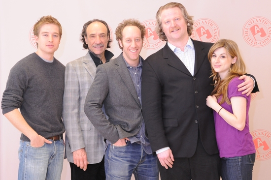 Daniel Abeles, F. Murray Abraham, Joey Slotnick, C.J. Wilson and Aya Cash Photo